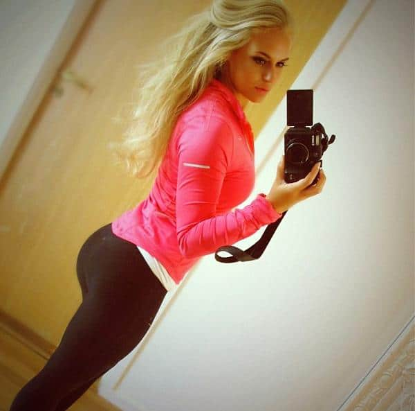 Yoga chick has a tight butthole 8