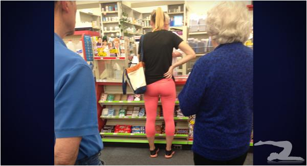 Smash Or Pass Creep Shot At Cvs  Hot Girls In Yoga Pants -2811