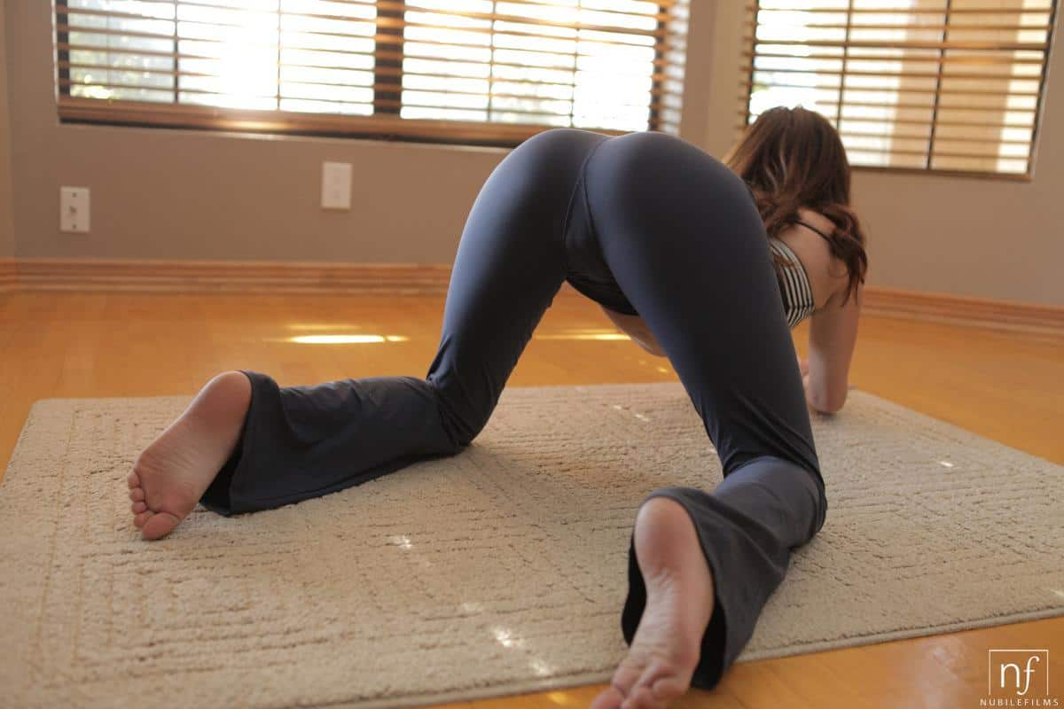 from Paxton up yoga pants pussy