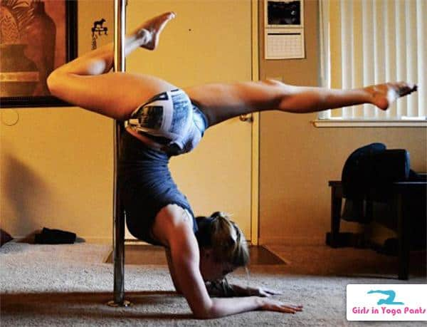 yoga-shorts-and-a-stripper-pole