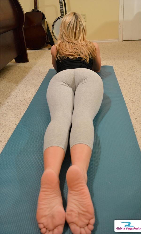 Hot sexy milfs in yoga paints