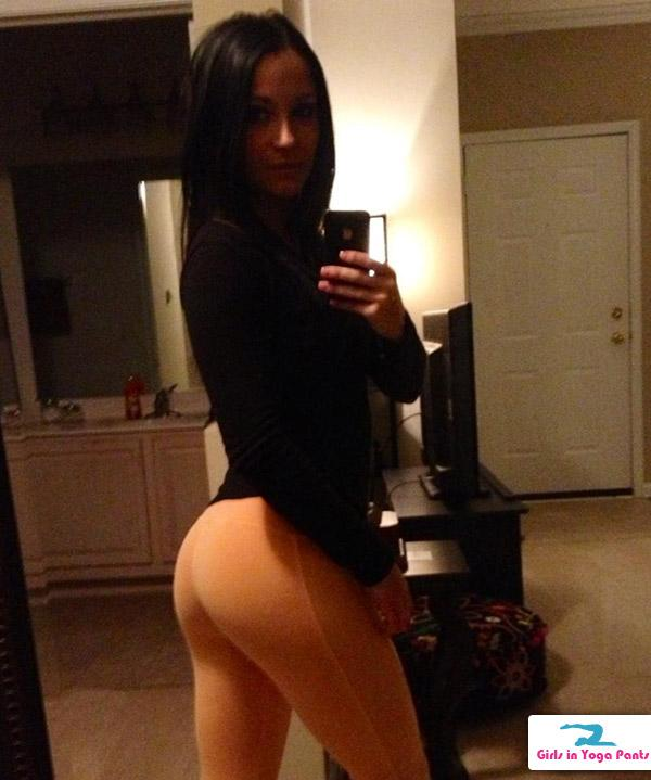 Horny girls in yoga pants