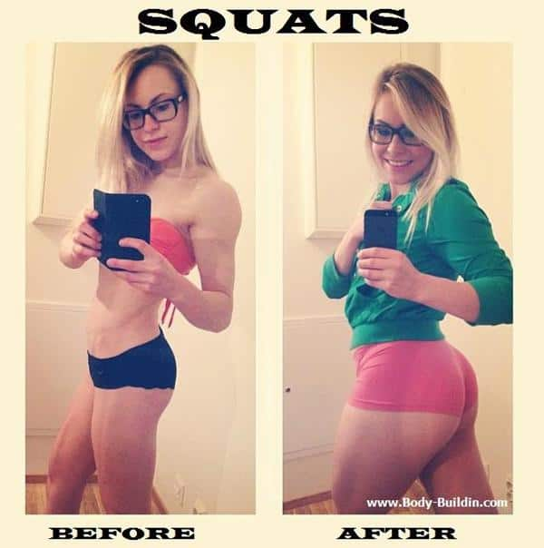 Something is. Girls that do squats