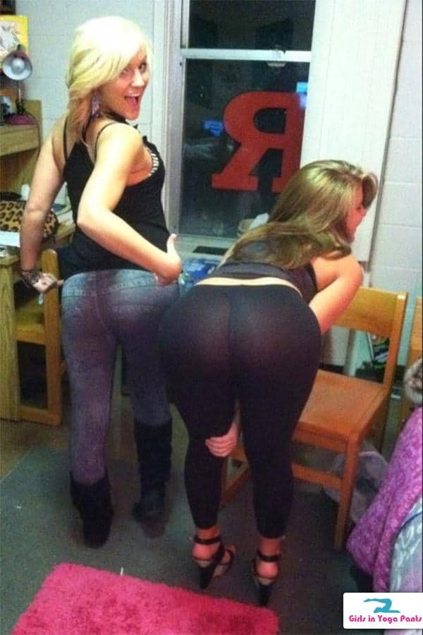 College freshman in leggings 9