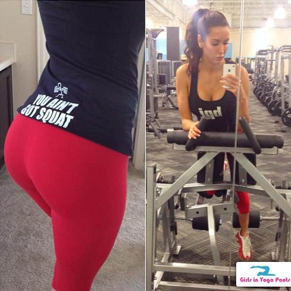 Titty Tuesday Featuring A Fitness Model In Yoga Pants And