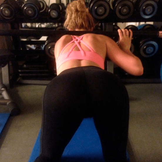 beautiful view at the gym