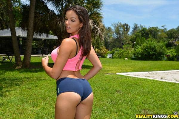 Ass  Titties Porn Stars In Yoga Shorts  Hot Girls In -2704