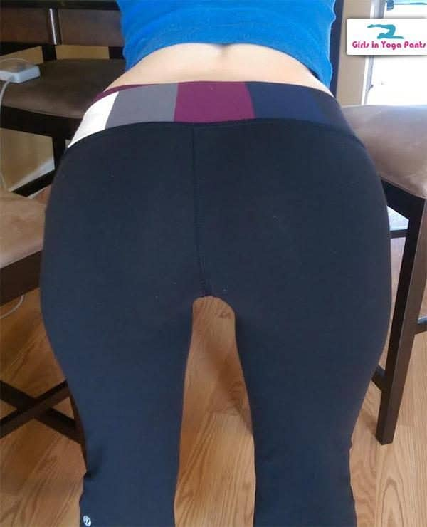 A Canadian Visitor's Girlfriend In Yoga Pants