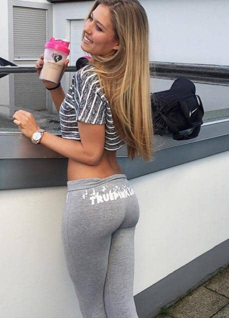 Hall Of Fame Girls In Yoga Pants