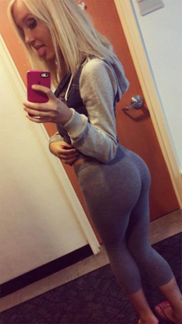 Interesting. Tell big butt in booty shorts selfie opinion