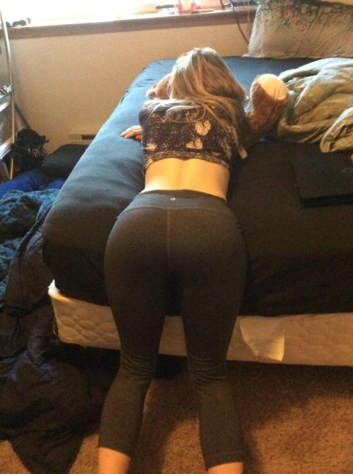 Amateur yoga pants