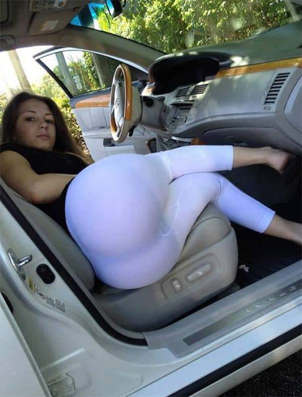 cleaning the car in white yoga pants girls in yoga pants. Black Bedroom Furniture Sets. Home Design Ideas