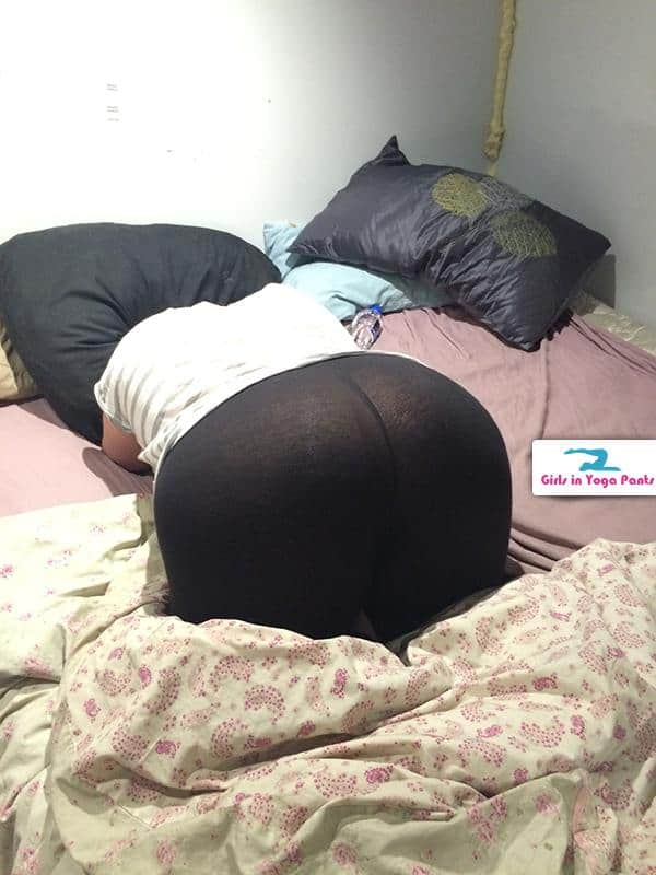 Bent Over In See-Through Yoga Pants  Hot Girls In Yoga Pants  Best Yoga Pants-5856