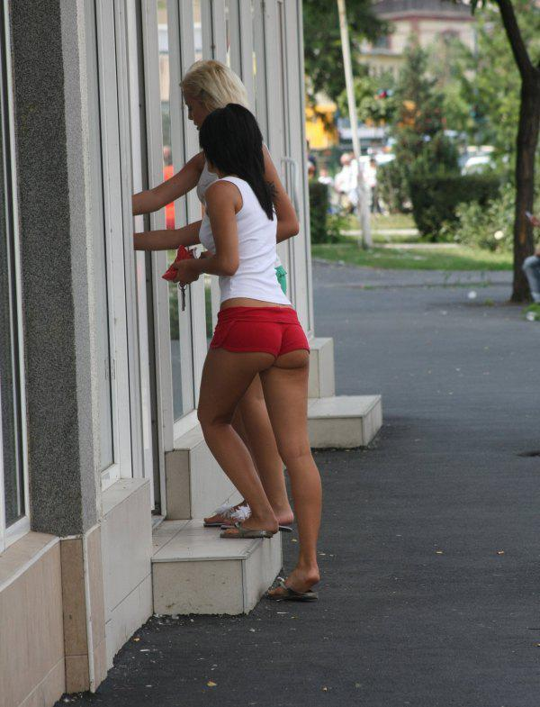 Sexy Girl In Hotpants