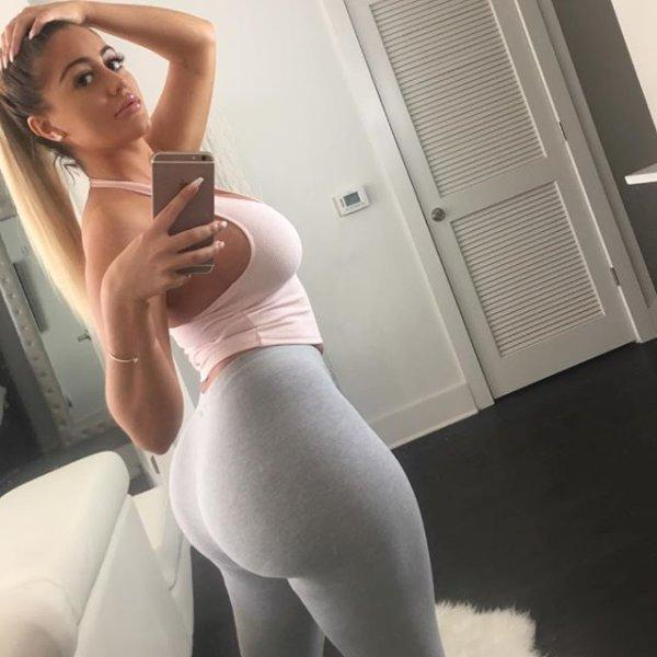 sexy naked women in yoga pants