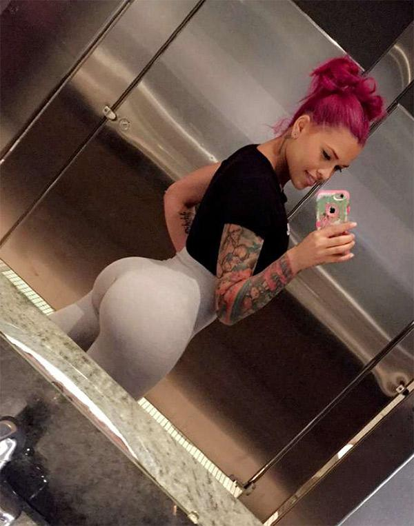 This excellent Nude yoga girl booty the same