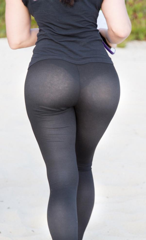perfect ass see-through yoga pants