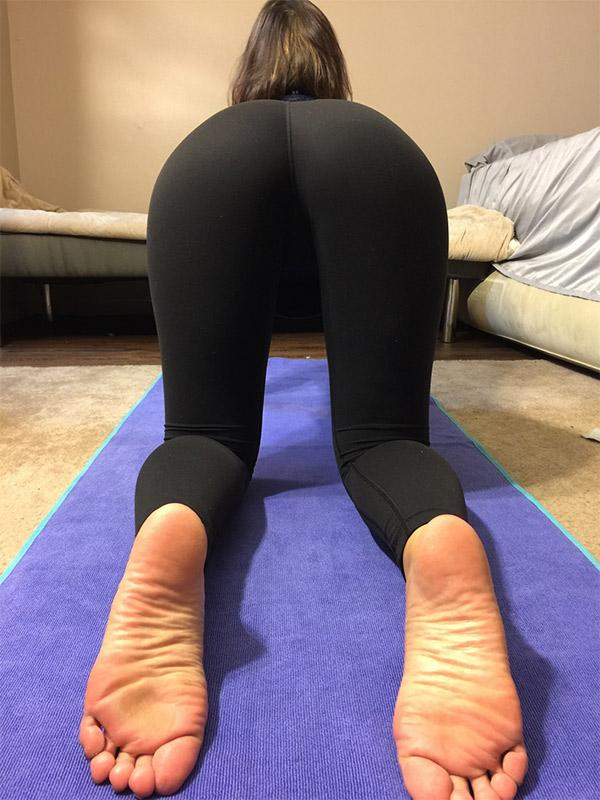 doggystyle yoga pants