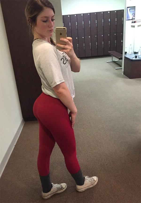red-yoga-pants-college-girls