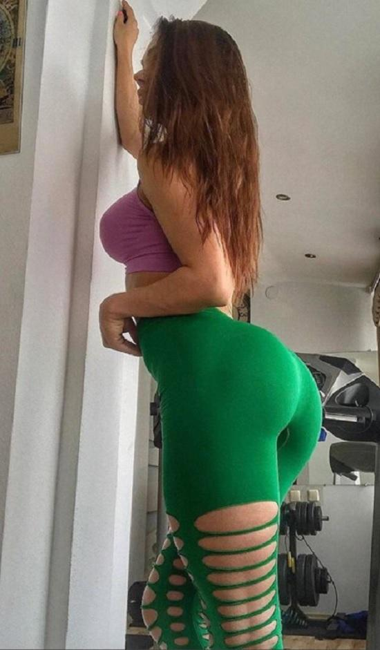 green ripped