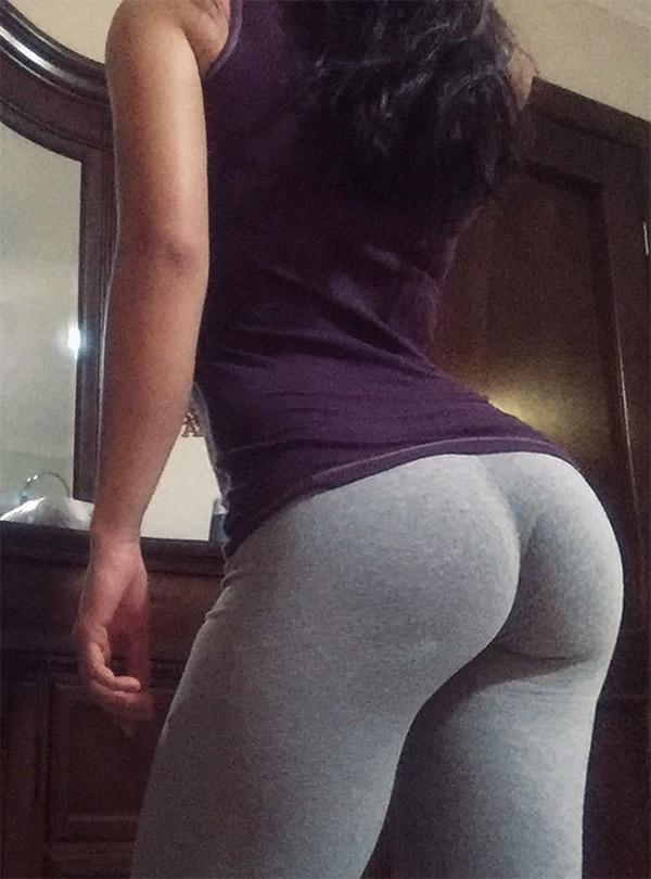 Sexy White Teen Perfect Ass