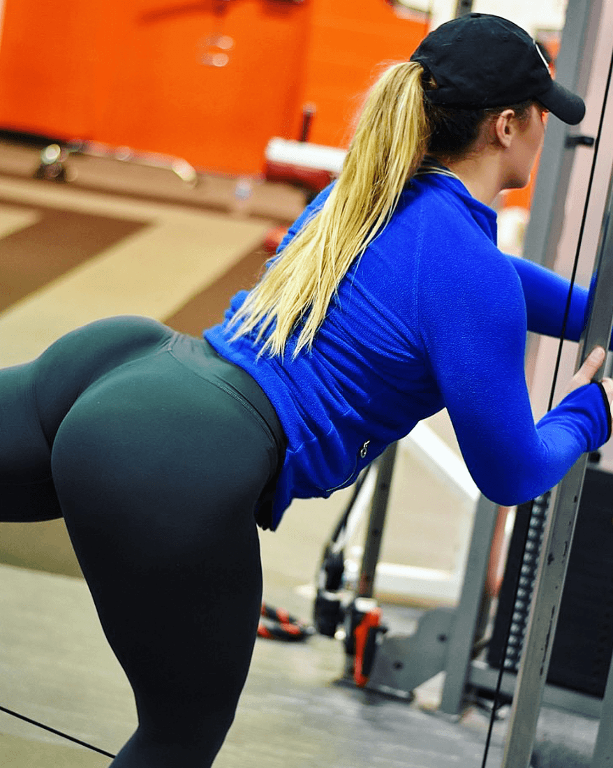 Big booty yoga pants — pic 12
