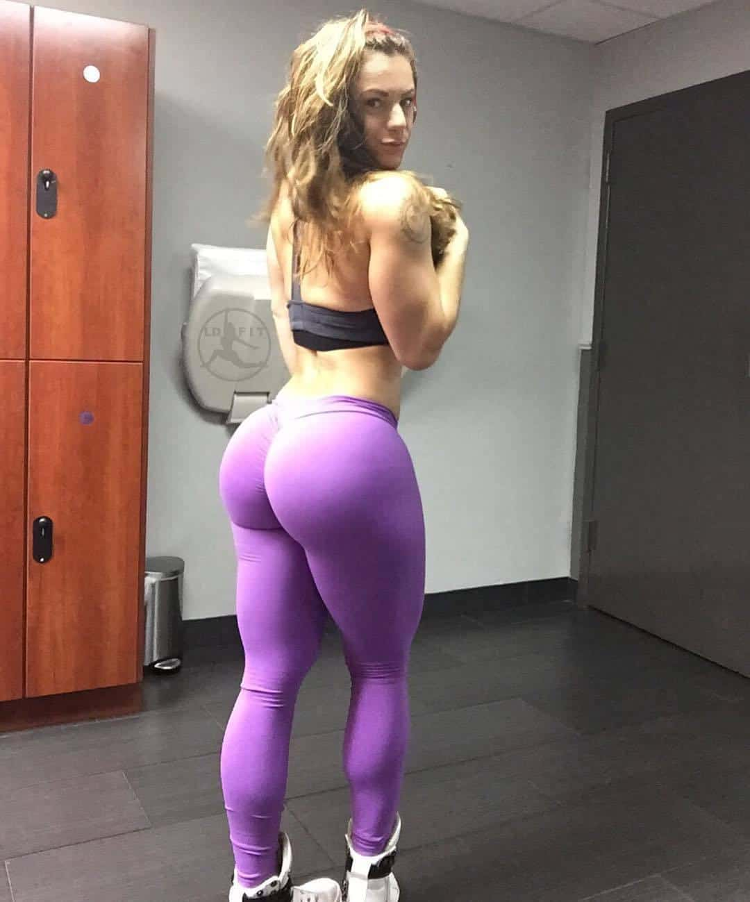 Big butts in tights