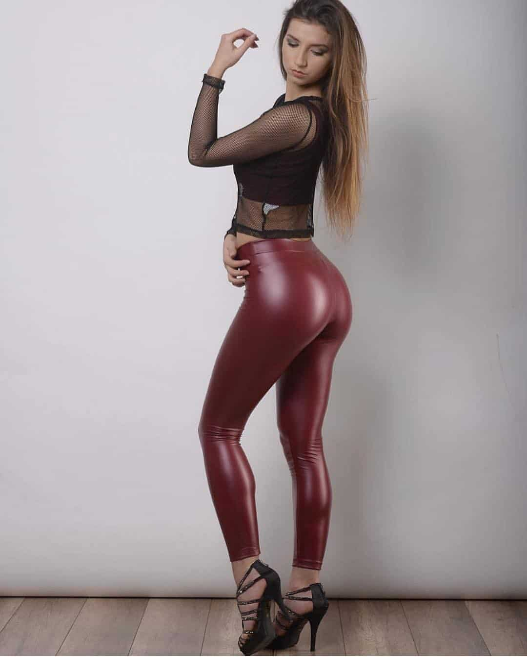 Kriss0leoo Shiny Leggings