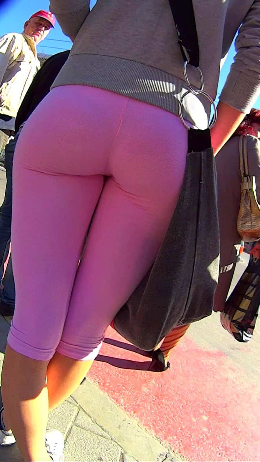 Pink Sexy Leggings For Women