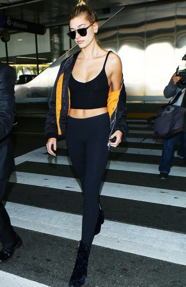 Hailey Baldwin Leggings